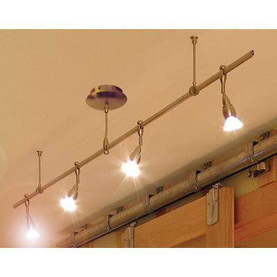 kitchen rail lighting monorail straight track lighting kit wayfair