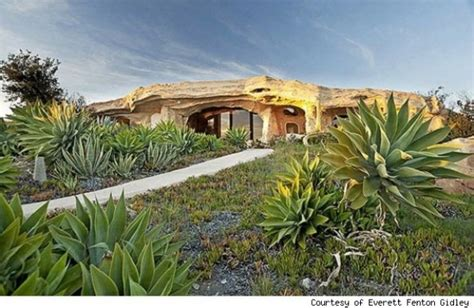 clark s flintstone house offbeat clark s flintstones house in malibu on the