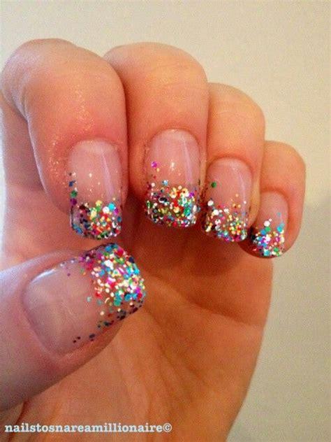 Nail Tips by Glitter Nail Tips Nail Galeria ღღ Get The