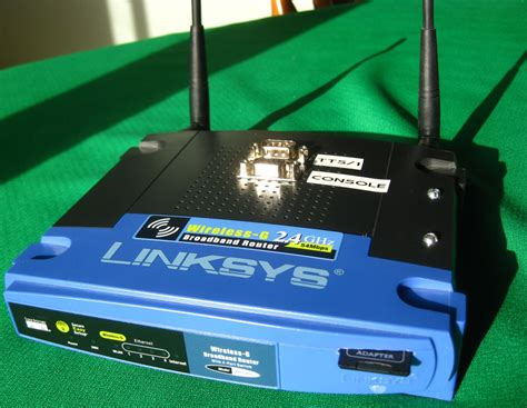 Diskon Open Source Linux Router Linksys Wrt 54gl Wireless G Router wrt54gl dual serial port and sd card mods jbprojects net