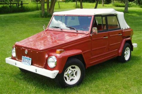 volkswagen thing for sale 1974 vw thing for sale nice red vw type 181