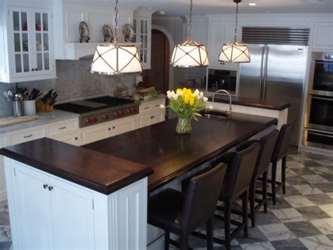 how wide should a bar top be premium wide plank wood countertops brooks custom