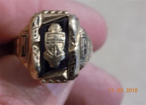 class ring and it s gold friendly metal