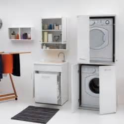 mobili per lavanderia mobile per lavanderia con porta lavatrice e asciugatrice