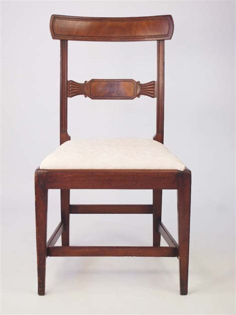 chair with side desk antique georgian mahogany desk chair side chair