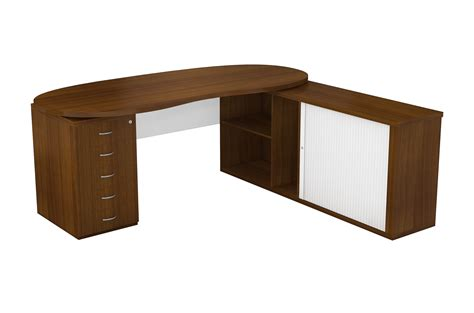 Ohio Desk Furniture by Ohio Floating Top Desk With Desk Height Pedestal And