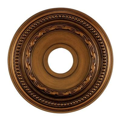 Ceiling Light Medallions Home Depot by Titan Lighting Cione 16 In Antique Bronze Ceiling