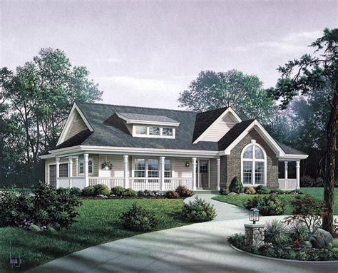 bungalow ranch house plans bungalow country craftsman ranch house plan 87811