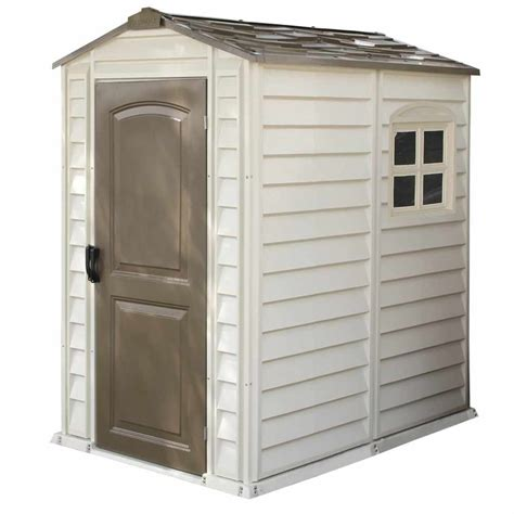 4x6 Storage Shed Duramax 4x6 Storepro Vinyl Shed With Floor 30621 Free