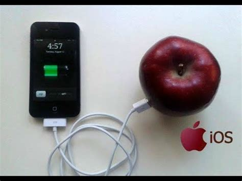 Find For Free No Charge At All Charge Your Iphone With A Fruit Joke