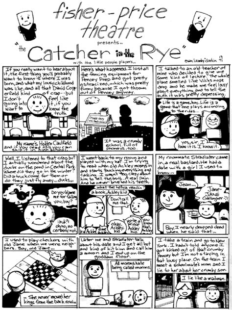 catcher in the rye anticipation guide reflection j d salinger