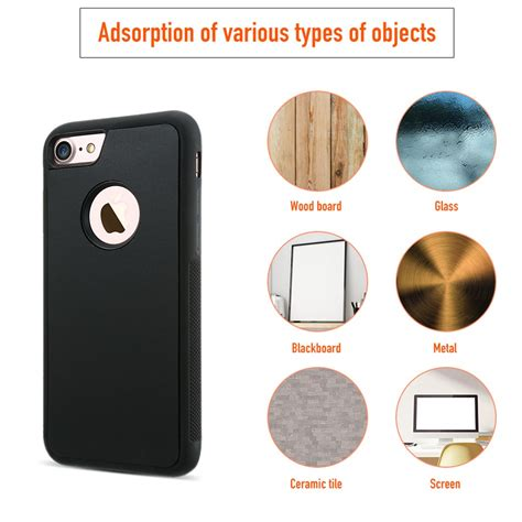 Anti Garskin Karbon Iphone 6 4 7 Inch Pelindung Black Hifi 906172 ultralight anti gravity magical suction cover for iphone 6 6s 4 7 inch sale banggood