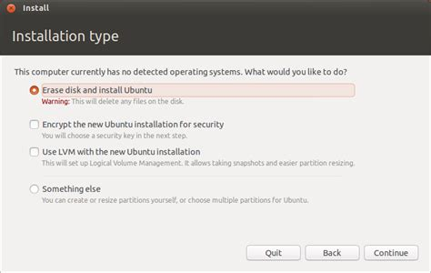 format cd ubuntu install ubuntu in a virtualbox virtual machine technical