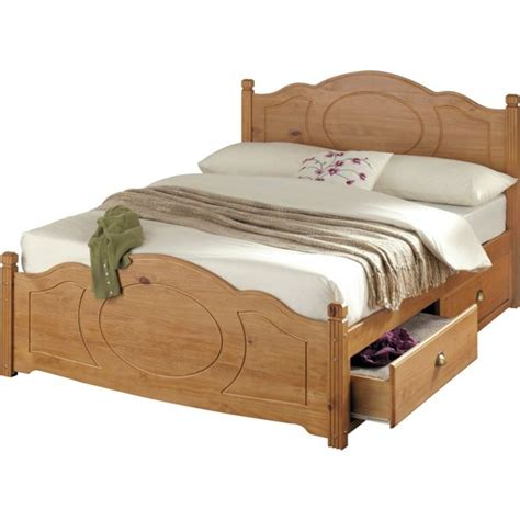 Bed Frames Stores Buy Collection Sherington Kingsize 4 Drawer Bed Frame Pine At Argos Co Uk Your Shop