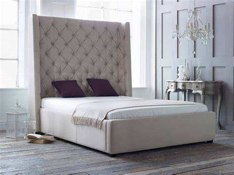 beds with upholstered headboards awe inspiring tall upholstered beds that will enhance your