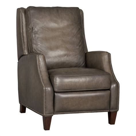 recliner charis hooker furniture seven seas leather recliner chair in