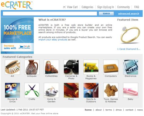 Websites To Sell Handmade Items - ecrater 7 websites to sell handmade goods on diy