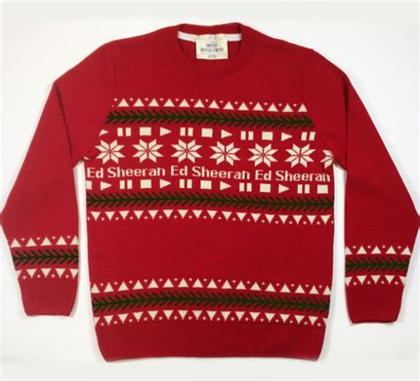 ed sheeran xmas jumper ed sheeran fans are going to love this competition her ie