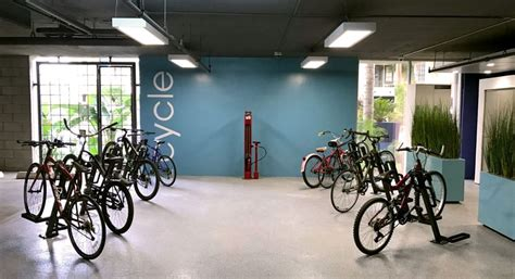 bike rooms company features uplift bike dock in renovated bike room