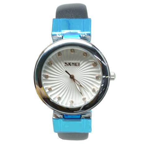 Jam Tangan With skmei jam tangan analog wanita 9086cl black