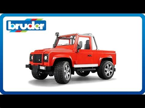 Bruder Toys 2591 Land Rover Defender Up bruder toys land rover defender up 02591