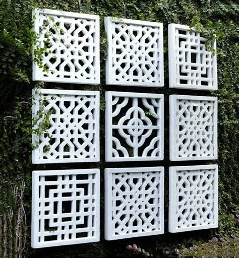 25 best ideas about outdoor wall on patio