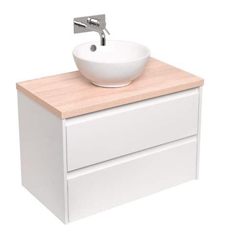 badkamermeubel 80 cm wit badmeubel proline opbouwkom porselein 80 cm wit