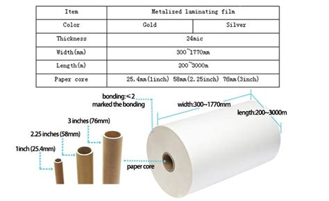 Blueprint Laminating Glossy metalized thermal lamination gloss matt amanbo