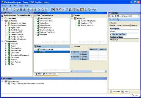 tutorial sap query designer enhance our first bex query