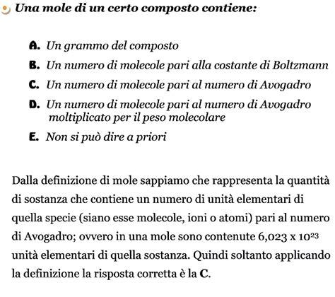 test di chimica generale test generale ed inorganica
