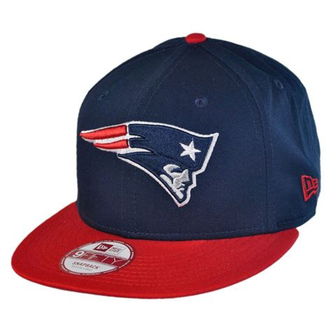 nfl hats new era new era new patriots nfl 9fifty snapback baseball