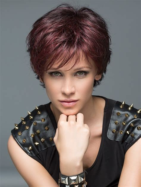 hairstyle in open short hair open wig by ellen wille monofilament crown wigs com