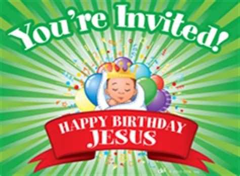 printable happy birthday jesus invitations crafts effective children s ministry