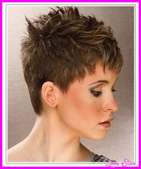short spikey bob hairstyles very short spiky hairstyles women livesstar com