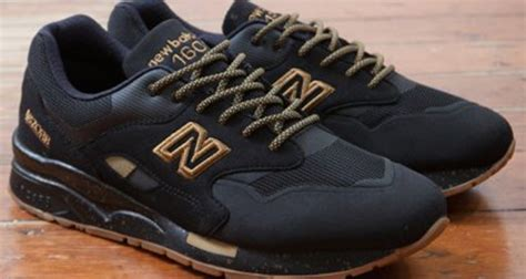New Balance 1600 Black the new balance 1600 black gum is available now kicks
