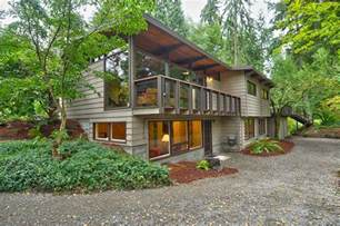 lake homes lake forest park northwest contemporary home