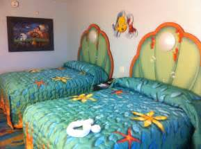 Cheap Beach Wall Murals photo tour of standard little mermaid rooms at disney s