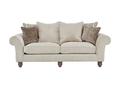 Lancaster Upholstery by Lancaster 3 Seater Fabric Sofa Furniture