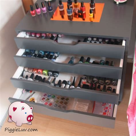 141 best nail tech stuff images on nail - Nagellack Aufbewahrung Schublade