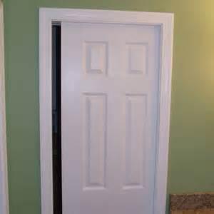 Barn Door Rail Kit How To Trim Pocket Door Jambs Home Construction Improvement