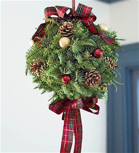 Home Decorators Collectin be romantic and hang a christmas kissing ball