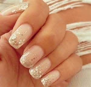 gallery for gt pink glitter tip nails