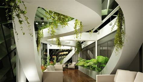 indoor design hotel indoor landscape design