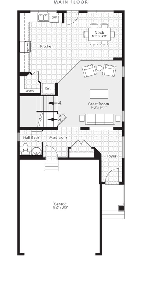 heartland homes floor plans garnet in heartland cochrane excel homes
