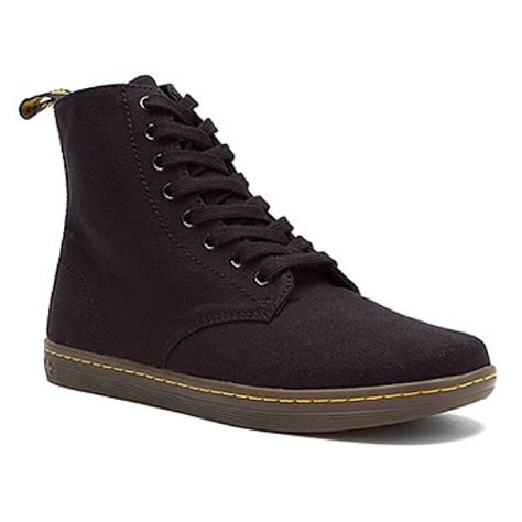 61 dr martens shoes black canvas doc martens from