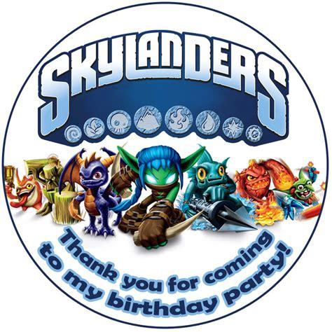 printable birthday cards skylanders skylander birthday party ideas need help for a
