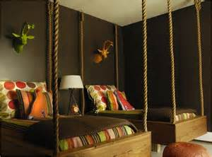 hanging beds for bedrooms hanging beds contemporary boy s room caldwell flake