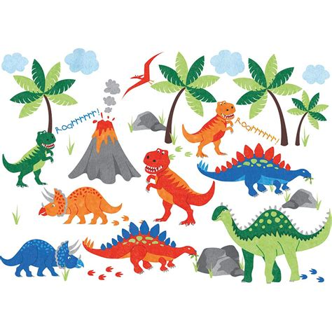 dinosaur wall stickers dinosaur wall stickers jojo maman bebe