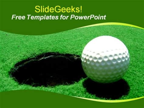 All Categories Gameunion Golf Powerpoint Template