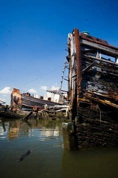 boat salvage yard new york tugboat helen mcallister photograph tugboat helen